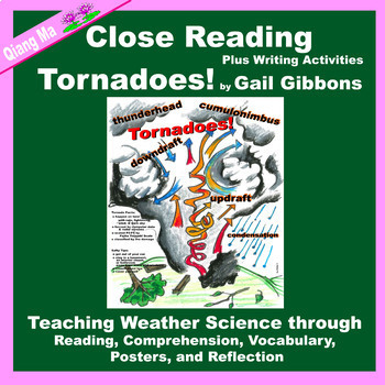 Close Reading: Tornadoes! by Gail Gibbons