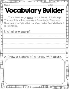 Close Reading: Turkeys