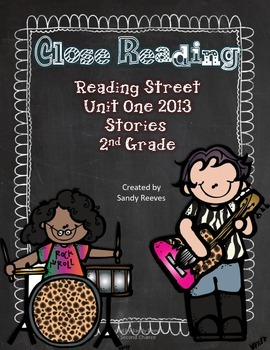 Close Reading Unit One Reading Street 2013 The Twin Club and Others