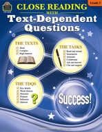 Close Reading Using Text-Dependent Questions Grade 3 (enhanced ebook)