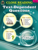 Close Reading Using Text-Dependent Questions Grade 6 (enhanced ebook)
