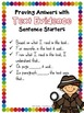 Close Reading Using Text Evidence SENTENCE STARTERS ~ Comp