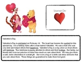 Close Reading ~ Valentine's Day: Expository Text Response