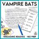 Test Prep Vampire Bats Close Reading Brochure