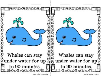 Close Reading -- Whales