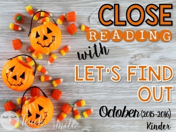Close Reading With Let's Find Out (October)