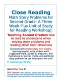 Close Reading With Math Story Problems for Second Grade: 3