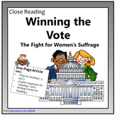 Close Reading - Women's Suffrage