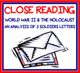 Close Reading - World War II & the Holocaust Soldier Letters - CC Aligned