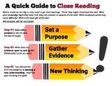 Close Reading (a quick guide)