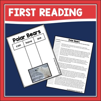 Close Reading about Polar Bears