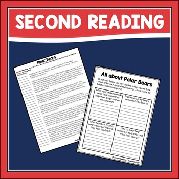 All about Polar Bears Close Reading Set