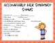 Close Reading and Accountable Talk Questions - Primary