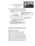 Close Reading and Annotation Exercise - Churchill Speech (