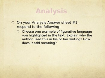 Close Reading and Annotation Guided Powerpoint For Any Passage or Text