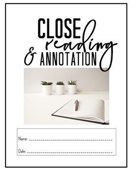 Close Reading and Annotation Mini-Unit