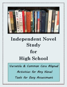 Close Reading and Critical Thinking Activities for Independent Novel Study