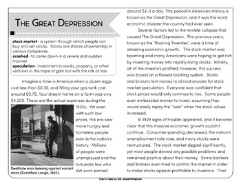 fdr and the great depression research papers The great depression and the new deal history essay during the great depression the unemployment rate when franklin d roosevelt became president he made.