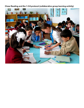 Close Reading and Small Group Cooperative Learning