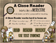 Close Reading and Text Dependent Questions Presentation wi