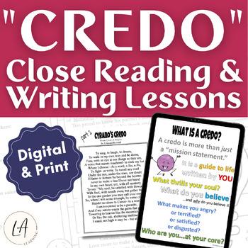 Cyrano de Bergerac Close Reading Lesson, Digital Resources for Google Drive