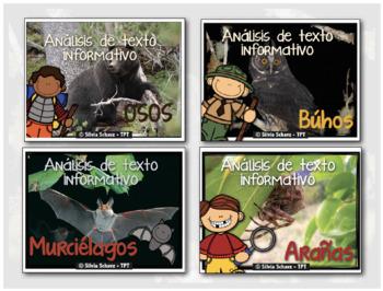 Close Reading en Español - Análisis de texto informativo de octubre