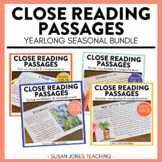 Close Reading Passages and Questions: 1st and 2nd Grade