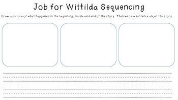 Close Reading for A Job for Wittilda