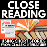Close Reading | Middle School | Classic Literature | Readi