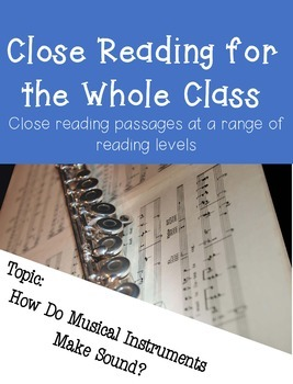 Close Reading for Multiple Reading Levels
