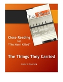 """Close Reading for Tim O'Brien's """"The Man I Killed"""" in The"""