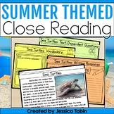 Summer Close Reading: Summer Activities