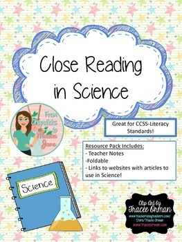 Close Reading in Science