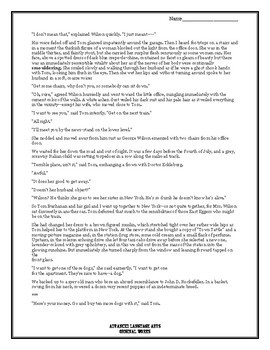 Close Reading of The Great Gatsby by F Scott Fitzgerald Chapter 2
