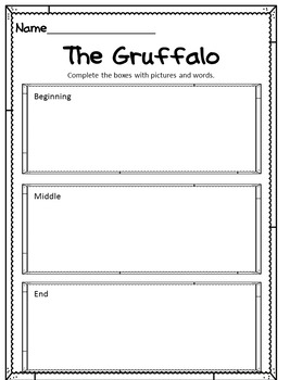 Close Reading of The Gruffalo