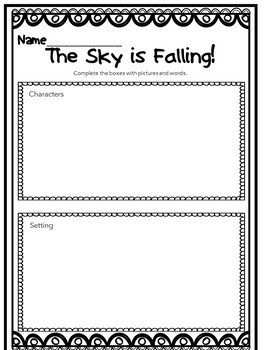 Close Reading of The Sky is Falling!