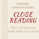 Close Reading of a Poem
