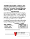 Ch 6.2 World History Close Reading of a Primary Source - C