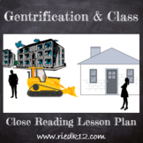 Close Reading on Gentrification and Class