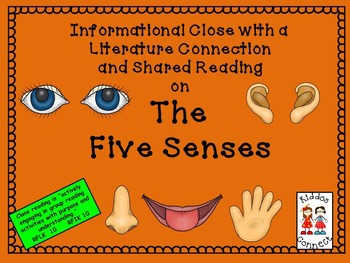 Close Reading on the Five Senses with extensions