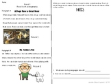 Close Reading practice with paired text passages fiction/nonfiction~ Dogs!