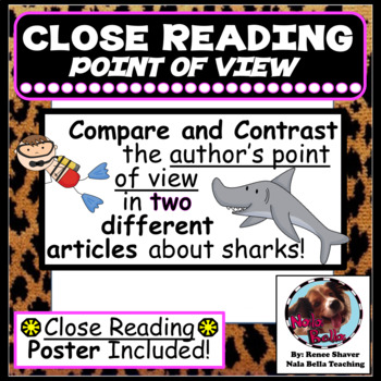 Compare and Contrast the  Author's Point of View Close Rea