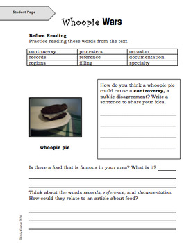 Close Reading with Chronological Order Texts: Grades 5-6