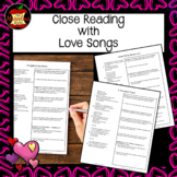 Close Reading with Love Songs