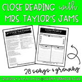 Close Reading with Songs and Lyrics