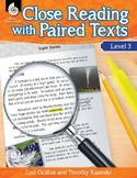 Close Reading with Paired Texts Level 3 (eBook)