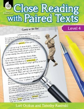 Close Reading with Paired Texts Level 4 (eBook)