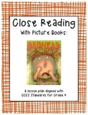 "Close Reading with Picture Books - Guide for ""Bedhead"" by Margie Palatini"