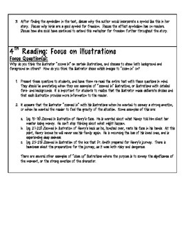 "Close Reading with Picture Books - Lesson Plan for ""Henry's Freedom Box"""