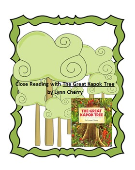 The Great Kapok Tree Worksheets Teaching Resources Tpt